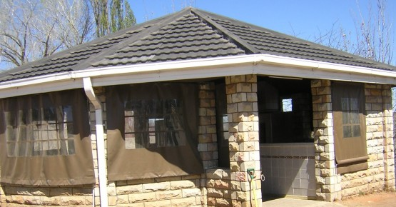 The braai place